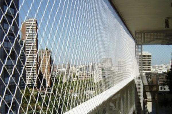 redes de protección para balcones