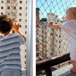 redes de protección para niños