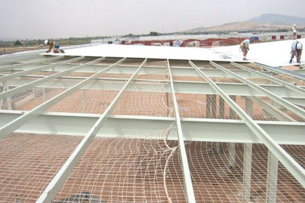 redes de protección para obras