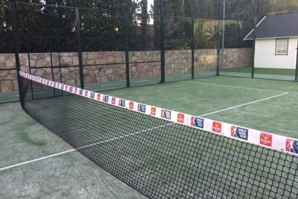 redes deportivas de padel