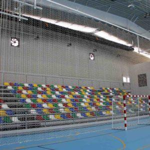 redes deportivas para graderios